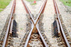 Railroad Junction Stock Photography