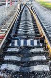 Railroad junction stock photos