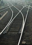 Railroad le commutateur photographie stock