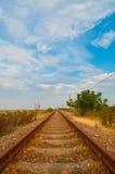 Railroad Line Stock Photo