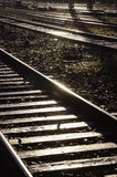 Railroad lines Royalty Free Stock Photos