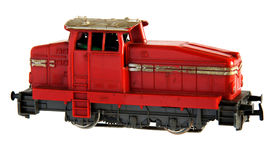 Railroad locomotive model Royalty Free Stock Images