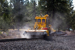 Railroad Maintenance Equipment Stock Photography