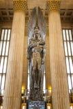 Railroad Memorial, 30th Street Station, Philadelphia, Pennsylvania  Royalty Free Stock Image