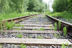 Railroad. Move forward!. Rails Rails Rails. Lets change our life and mofe forward Royalty Free Stock Image