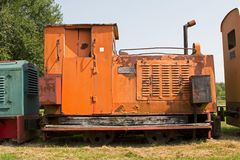 Railroad museum in Erica, Netherlands Stock Image