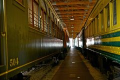 Railroad Museum Royalty Free Stock Photos