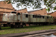 Railroad Museum Jundiai Sao Paulo Royalty Free Stock Photography