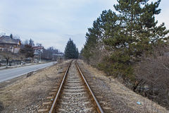 Railroad Royalty Free Stock Image