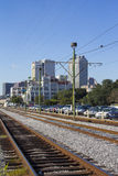 Railroad New Orleans Royalty Free Stock Images