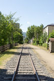 Railroad. Old not use otaru Royalty Free Stock Photos