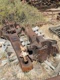 Railroad parts Stock Photos