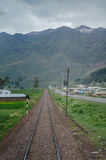 Railway in Peru Stock Image