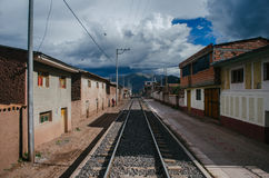 Railway Peru Royalty Free Stock Image