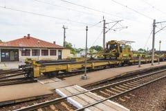 Railroad repair track Stock Images