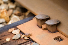 Free Railroad Spike Stock Image - 6112531