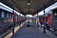 Railroad station Royalty Free Stock Image