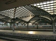 Railroad Station Platform Stock Images