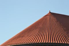 Railroad Station Roof in Portland, Oregon Stock Photos