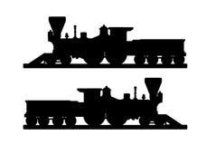 Railroad and subway symbols Stock Images