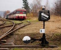 Railroad Switch Royalty Free Stock Images