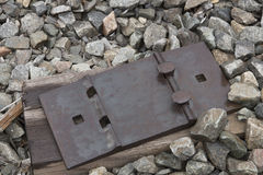 Railroad Tie Plate Stock Images