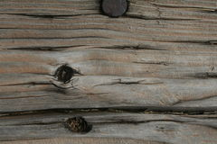 Railroad tie weathered royalty free stock photo
