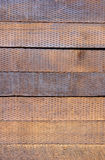 Railroad Ties - Stacked Royalty Free Stock Images