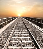 Railroad to heaven Royalty Free Stock Photography
