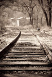 Railroad track Stock Image