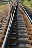Railroad Track Royalty Free Stock Photos