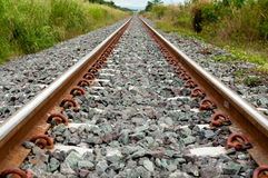 Railroad track Royalty Free Stock Photo