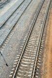 Railroad track Stock Photo