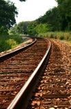Railroad track II. Railroad track's view at Seminole County, Florida Stock Image