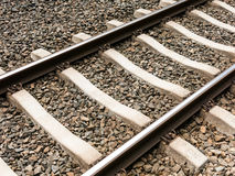 Railroad track, Netherlands Royalty Free Stock Image