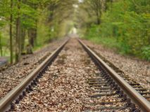 Free Railroad Track Out Of Service In Autumn Royalty Free Stock Photos - 126057348