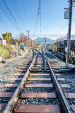 Railroad track Stock Images