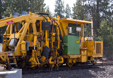 Railroad Track Repair Equipment Royalty Free Stock Image