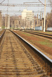 Railroad track Stock Photos