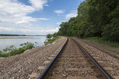 Railroad Track Scenic Stock Images