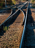 Railroad Track Switch Stock Images