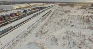 Railroad Track Top View