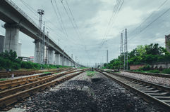 Railroad track Royalty Free Stock Photography