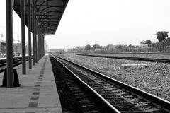 Railroad track Stock Image