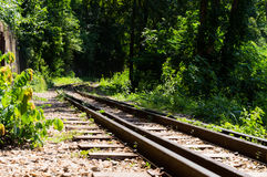 Railroad track Royalty Free Stock Photo