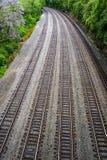 Railroad Tracks – Railyard. Railyard with multiple railroad tracks Stock Images
