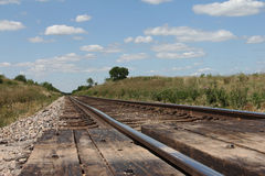 Free Railroad Tracks Royalty Free Stock Image - 19546996