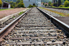 Free Railroad Tracks Royalty Free Stock Photo - 21551685