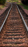 Railroad Tracks. Leading off into the distance stock image