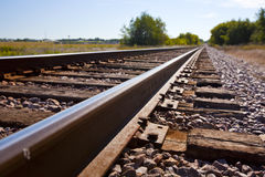 Free Railroad Tracks Royalty Free Stock Image - 26695166